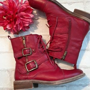 Lucky Red Boots sz 7.5